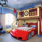 Kids' Race Car Bed