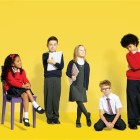 Supermarket price tag war: Aldi unveils £4 college uniform