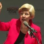 Elizabeth Warren ends up a winner in shelling out struggle